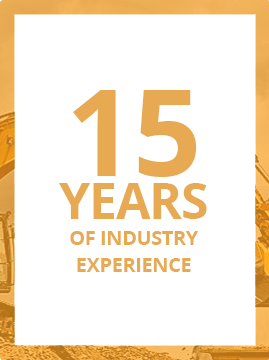 15 Years of Industry Experience